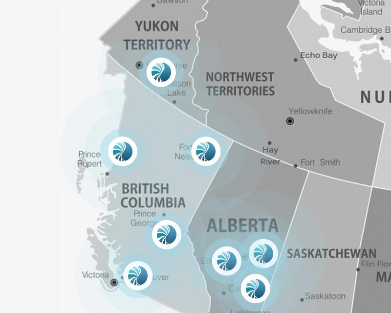 PSI Canada Locations